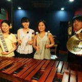 ロビーコンサート12月 Percussion Ensemble CATCH!! (パーカッションアンサンブル)