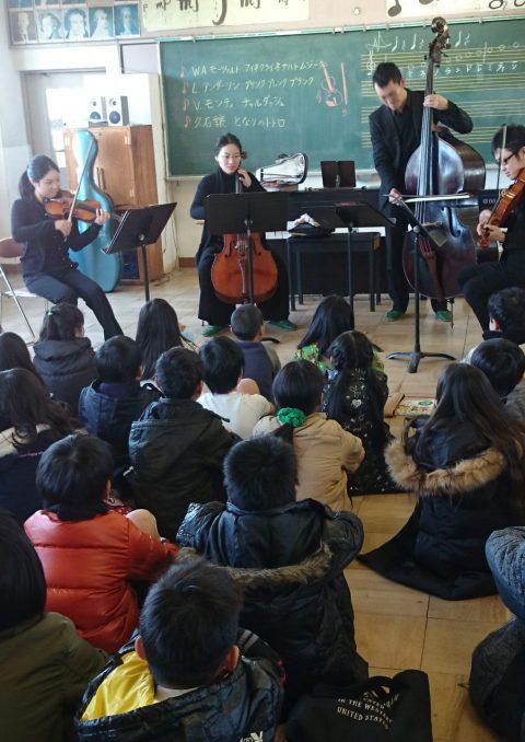 2017年度アウトリーチコンサート 門真市立全14小学校で開催