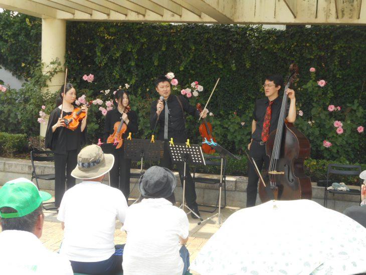 まちかど・まちなかコンサート 弦楽四重奏@弁天池公園