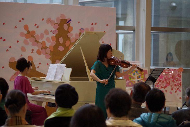 ロビーコンサート3月 中出悦子・竹吉さやか (ヴァイオリンとピアノ)