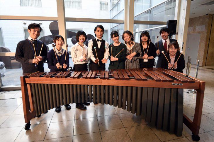 学生プロデュースコンサート  カフェルミエール「昼下がりの音楽コンサート」