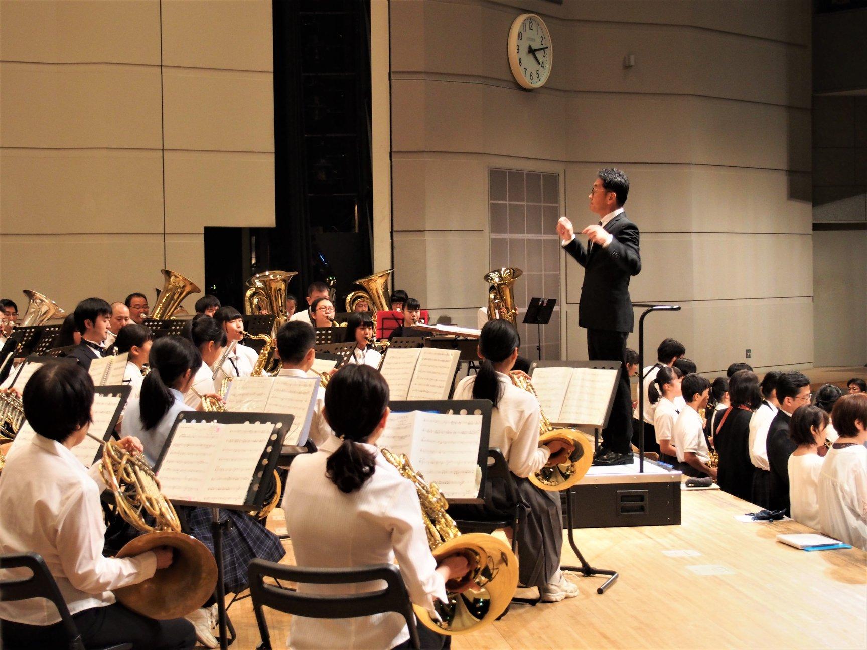第21回門真市吹奏楽フェスティバルが終了しました!